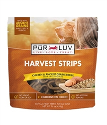 Pur Luv Harvest Strips, 18 oz