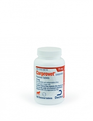 Dechra CarproVet (Carprofen) Flavored Tablets 75mg, 60 Count