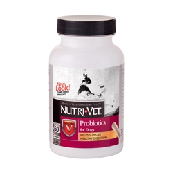 Nutri-Vet Probiotics For Dogs, 60 Capsules