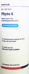 PhytoVet Ear Cleansing Solution, 16 oz