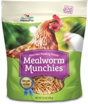 Manna Pro Mealworm Munchies Poultry Treat, 10 oz