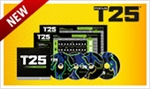 Focus T25 Gamma DVDs Only - Shaun T