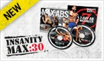 Insanity Max 30 Maximizer DVDs Only - Shaun T