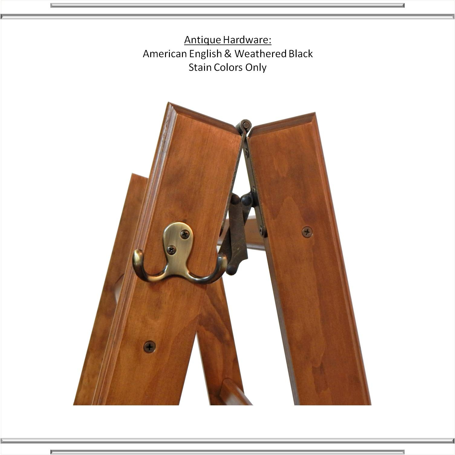 The LadderRack: Handcrafted Wood Quilt Ladder Display Rack : quilt display racks - Adamdwight.com