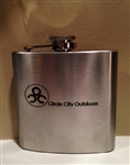 Stainless Steel Flask with Custom Logo