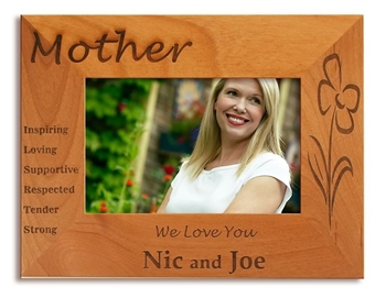 Mom's Day Wood Picture Frame
