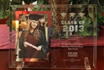 Custom Engraved Glass Graduation Day Picture Frame