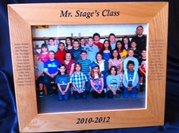 School Class Picture Frame