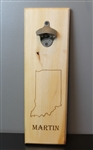 Personalized Bottle Opener Board