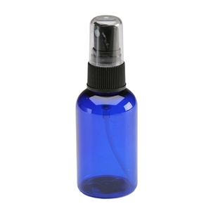 Fine Mist Spray Bottle - Blue - 2 oz