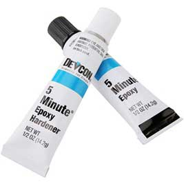 Adhesive - Devcon 5 Minute Epoxy - High Strength
