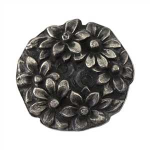 Antique Mold - Carved Daisies