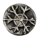 Antique Mold - Rustic Snowflake
