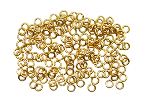 Brass Jump Ring Round 3.5mm - 20 gauge