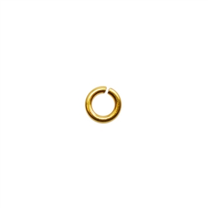 Brass Jump Ring Round 2.4mm - 20 gauge