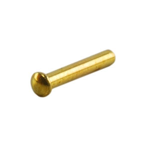 Brass Miniature Rivet - 1/4""