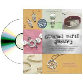 Stamped Metal Jewelry with DVD by Lisa Niven Kelly