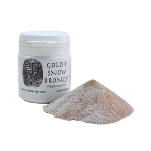 Goldie Bronze - Snow 100 gram
