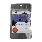 Five Star White Bronze Clay - 100 gram - 3+ Pkgs