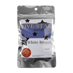 Five Star White Bronze Clay - 200 gram - 3+ Pkgs