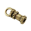 Bronze Plate End Caps - Swivel Fancy 2mm