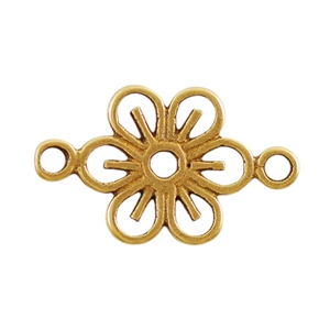 Bronze Plate Connector - Daisy