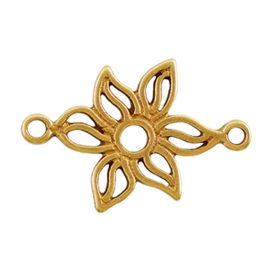 Bronze Plate Connector - Lily