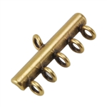 Bronze Plate Connector - 5-Strand 10mm x 20mm Pkg - 2