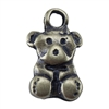Bronze Plate Charm - Teddy Bear
