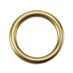 Bronze Plate Jump Ring - Round 10.5mm Pkg - 2