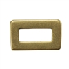 Bronze Plate Jump Ring - Rectangle Small 5.5mm x 9mm