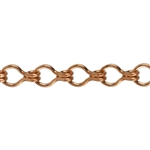 Copper Chain - Ladder 6.6mm - 1 Foot