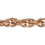 Copper Chain - Double Rope 5.4mm - 1 Foot