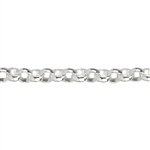 Sterling Silver Chain - Rolo 1mm
