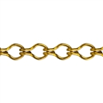 Brass Chain - Ladder 6.6mm - 1 Foot