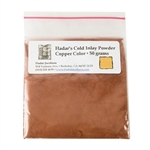 Hadar's Clay - Cold Inlay Powder - Copper Color 50 gram