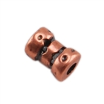 Copper Plate Spacer - Fancy 3mm x 4mm Pkg - 10