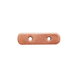 Copper Plate Bar Spacer - Double Strand