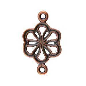 Copper Plate Connector - Flower