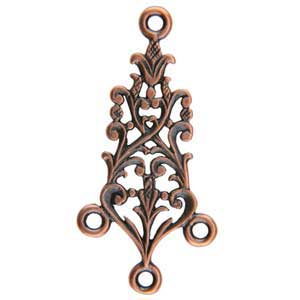 Copper Plate Connector - Celtic Chandelier Pkg - 2