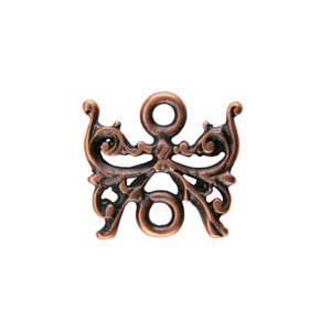 Copper Plate Connector - Butterfly