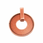Copper Plate Pendant - Easy Set