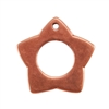 Copper Plate Charm - Star
