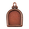 Copper Plate Pendant - Simple Frame