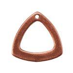 Copper Plate Charm - Trillion Triangle Pkg - 1