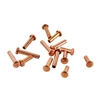 "Copper Plate Miniature Rivet - 1/16"" Assorted Medium Shaft Lengths"