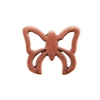 Copper Plate Jump Ring - Fancy Butterfly