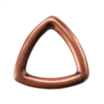 Copper Plate Jump Ring - Trillion Small Pkg - 2