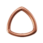 Copper Plate Jump Ring - Trillion Large Pkg - 2