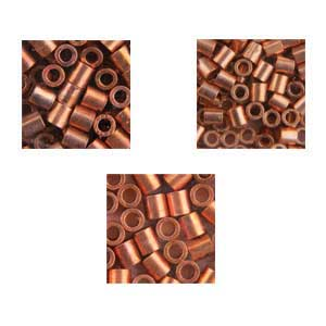 Crimp Tubes - Copper-Plate Pkg of 475